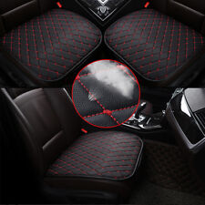 1x Black+Red Protect Auto Seat Cover Front Cushion Great Car Chair Accessories