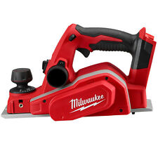 Milwaukee Cordless 18v M18   82mm Powerful Planer-Skin Only