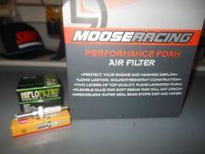 Moose racing 07-17 YAMAHA YFZ450 YFZ 450 TUNE UP KIT AIR OIL FILTER SPARK PLUG