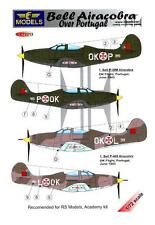 LF Models Decals 1/72 BELL P-39M & P-400 AIRACOBRA OVER PORTUGAL
