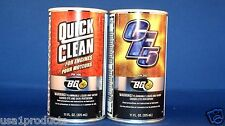 BG CF5 fuel system cleaner and Quick clean for engine crankcase internal engine