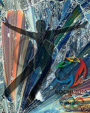 2014  Olympic Poster/sochi.ru /Winter Games/Russia/Figure Skater/Men's Skating
