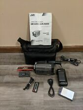 Vintage Jvc Vhs-C Camcorder - Gr-Ax800 + Accessories