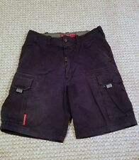 Abercrombie and Fitch Navy Blue Mens Cargo Shorts Size Medium