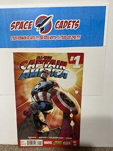 All-new Captain America #1 Sam Wilson Immonen Marvel Comic