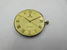 Concord saratoga watch Movement  255.122 dial, hands, stem, crown working
