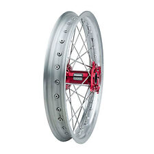 Impact Complete Wheel - Rear 19 x 2.15 Silver Rim/Silver Spoke/Red Hub for Honda