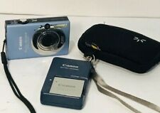 CANON POWERSHOT SD1100 IS CAMERA W/BATTERY, WALL CHARGER - TESTED/WORKING