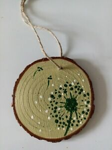 1 Handmade dandelion flower gift ornament, gift tags, Christmas tree decorations