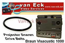 Braun Visacustic 1000 - belt / riem (motor) New belt (BT-0926-M)