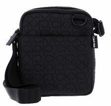 Calvin Klein Mono Blend Mini Reporter Umhängetasche Tasche Black Schwarz