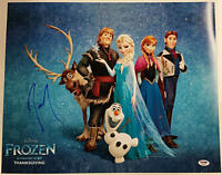 JOSH GAD Signed 16x20 Photo Disney's FROZEN Voice of Olaf Auto Cast PSA/DNA COA