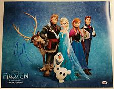 JOSH GAD Signed 16x20 Photo Disney's FROZEN Voice of Olaf Auto Cast PSA/DNA COA