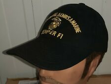 U.S.M.C. BALL CAP - ONCE A MARINE, ALWAYS A MARINE  NEW MADE BRUSHED COTTON