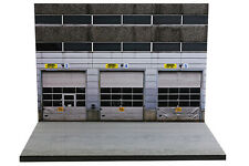 Diorama Dépôt de bus moderne - 1/72ème - #72-2-B-B-001