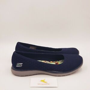 Skechers Microburst one up Shoes Size 8.5 Medium Blue A816