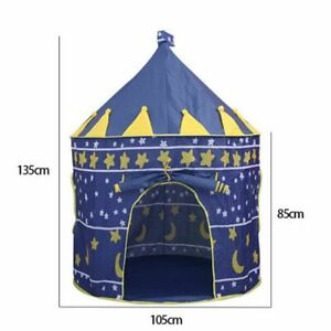 Foldable Kids Play Tent Children Indoor Outdoor Ball Pool Cloth Playhouse Castle