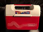 Vintage Rare Coleman PAK Lunch Box Cooler Lunchbox Model 5202 5203 5204 Red