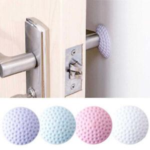 5 PCS Thicken Door Crash Pads Door Handle Stopper Wall Doorknob Protective