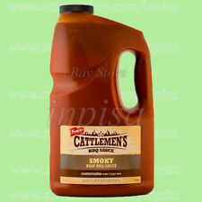 CATTLEMEN'S SMOKY BBQ SAUCE 1 GALLON FOODSERVICE