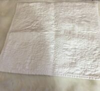 Pottery Barn Monique Lhuillier Blosson Embroidered Set of 2 Shams King White