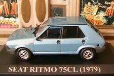 Seat ritmo 75cl 1979 ixo blue 1/43 ixo altaya new blau