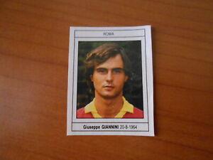 figurina CALCIO GUERIN SPORTIVO 1989-90-GIANNINI-ROMA