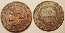10 Centimes Cérès 1871 A moyen, Rare et SUP !!