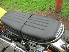SUZUKI T 125 STINGER MK1 T120 CAT SEAT COVER KIT + NEW CHROME TRIM STRIP