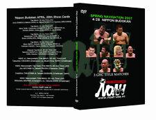 Official Pro Wrestling Noah Spring Navigation 2007 Event DVD