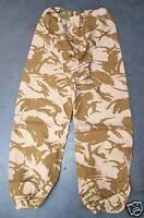 """NEW Desert Camo Goretex Waterproof Trousers 80/84/100 - 33"""" waist 31"""" inside leg"""
