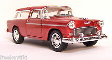 Persimmon 1955 55 Chevy Chevrolet Nomad Car Vehicle Diecast Model 1/40 Pull Back