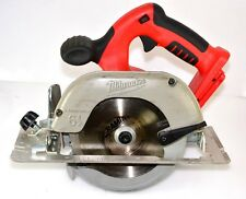 "MILWAUKEE CORDLESS CIRCULAR SAW V28 28V 165MM 6 1/2""**HARDLY USED** SKIN ONLY**"