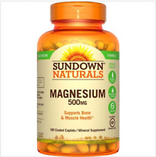 Pastillas De Magnesio - Suplemento De Magnesio Para Nivel Saludable En El Cuerpo