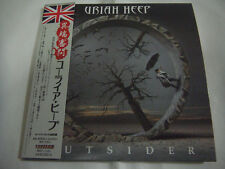 URIAH HEEP-Outsider JAPAN 1st. Press Mini LP CD PROMO w/OBI + 2 Bonus Tracks