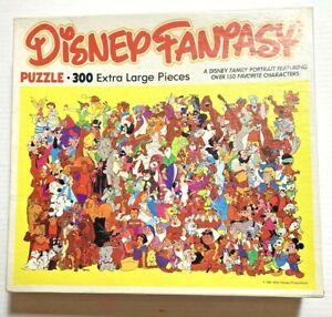 Vintage 1981 Disney Fantasy 300 Piece Jigsaw Puzzle, 100% Complete