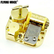 Gold Wind Up Musical Movement Top Winder 24 Tunes Option For Diy Music Boxes Toy