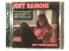 JOEY RAMONE Don't worry about me cd RAMONES LOUS ARMSTRONG SIGILLATO SEALED!!!
