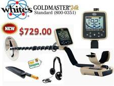 Whites Goldmaster 24K Metal Detector - Whites Newest Gold Detector - Ships Free