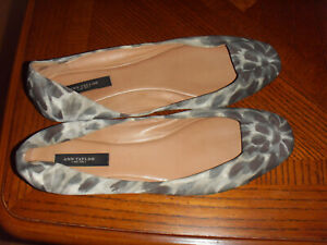 """""""ANN TAYLOR"""" Summer Flats, Size 9M, Leather Sole"""