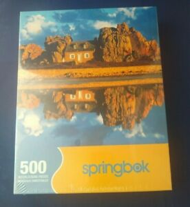 NEW & SEALED Springbok 500 Piece Puzzle Stone Reflections 2004 sealed NOS
