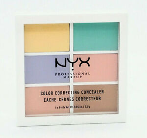 NYX Professional Makeup Color Correcting Palette - NEW - Scuffed Box