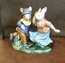 Attractive Qwirky Dancing Rabbit Ornament