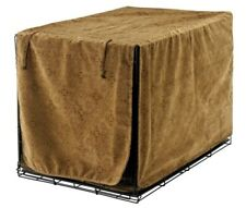 Bowsers Luxury Dog Crate Cover - Pecan Filigree - Large - New- 36""