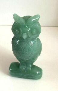 Jade Owl Statue - Small II