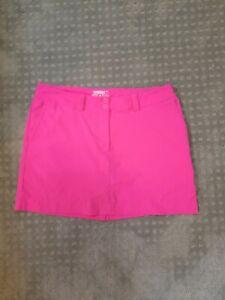 Nike womens Golf skort hot pink  Tour Performance size 14