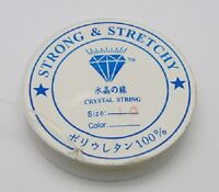 1 Roll 4m Strong Clear Stretch Jewellery  Elastic Cord - 0.8mm - LB1385