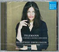 Dorothee OBERLINGER: TELEMANN 3 Dobble Concerto & Suite Vittorio Ghielmi DHM CD
