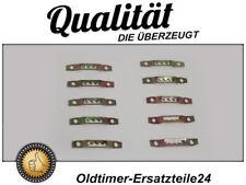 10x Molletta Clip per Mercedes W110 W111 W112 Lunotto & Listelli