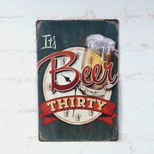 Vintage Metal Tin Signs Beer Advertising Plaque Decor Bar Pub Tavern Wall Poster
